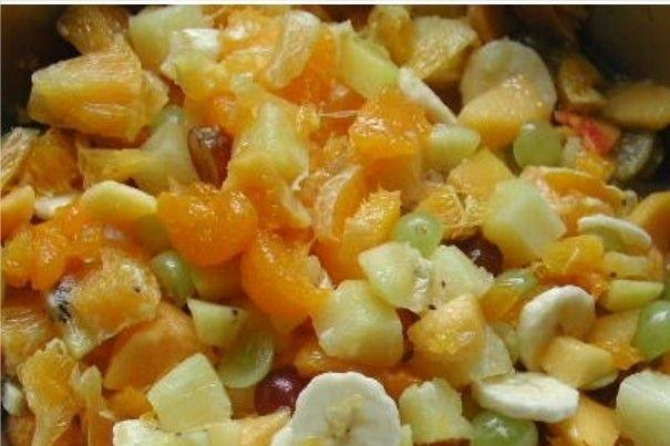 Receta de ensalada de fruta