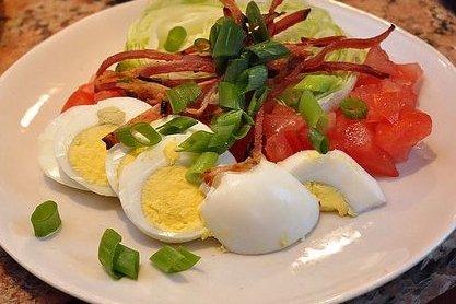 Receta de ensalada de huevo
