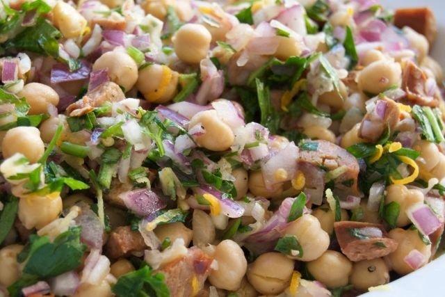 Receta de ensalada de legumbres