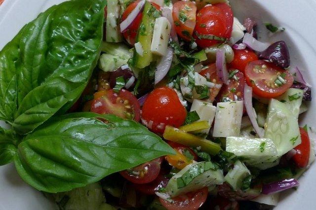 Receta de ensalada de tomatitos