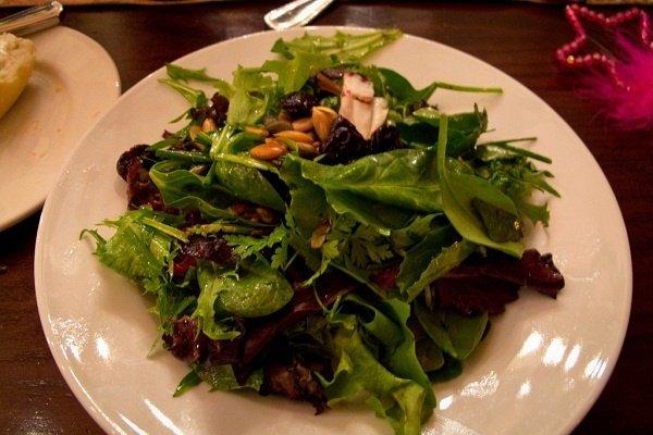 Receta de ensalada de verduras frías