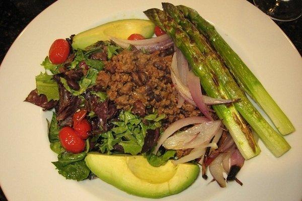 Receta de ensalada de verduras salteadas