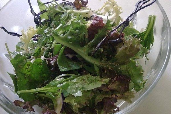 Receta de ensalada de verduras sencilla