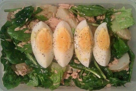 Receta de ensalada de verduras surtidas