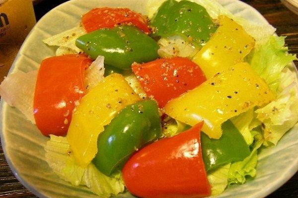 Receta de ensalada de verduras variadas