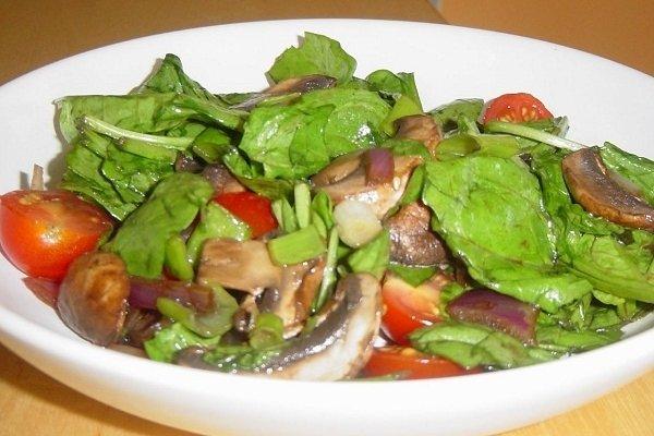 Receta de ensalada de verduras y vegetales