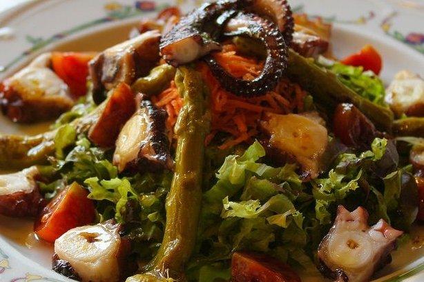 Receta de ensalada templada de pulpo