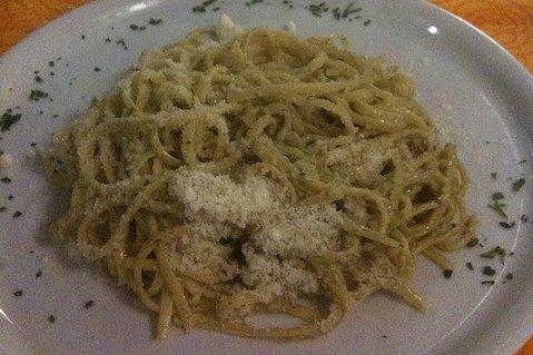 Receta de espagueti alfredo