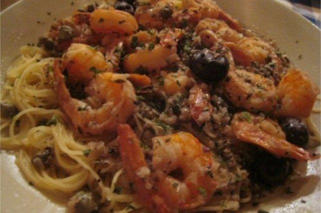 Receta de espaguetis con marisco