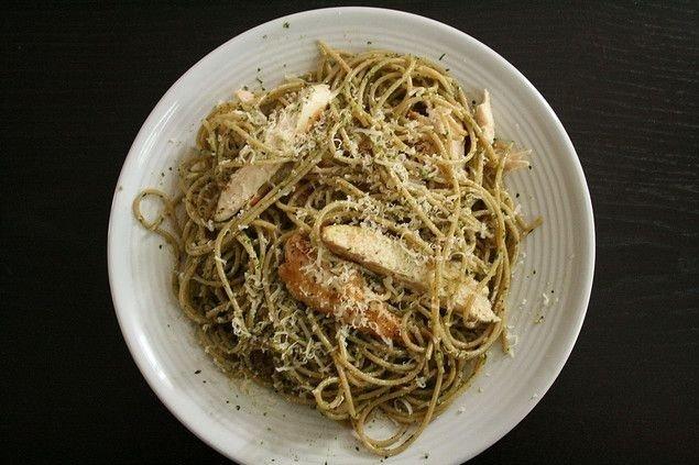 Receta de espaguetis con pollo
