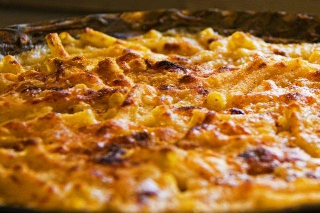 Receta de espaguetis con queso al horno