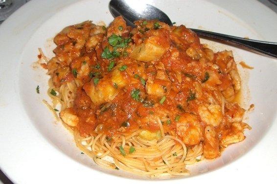 Receta de espaguetis en salsa