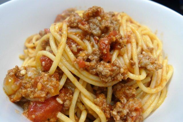 Receta de espaguetis italianos
