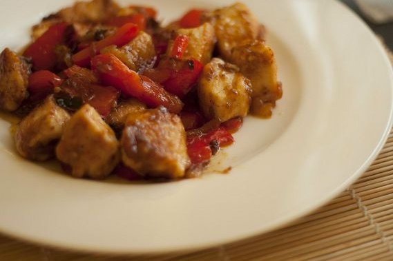 Receta de estofado de pollo ecuatoriano