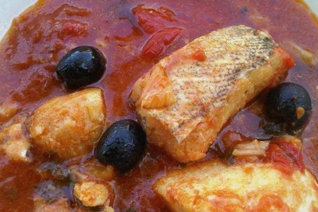 Receta de filete de pescado a la diabla