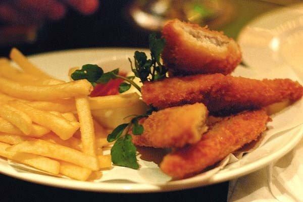Receta de filete de pescado empanado