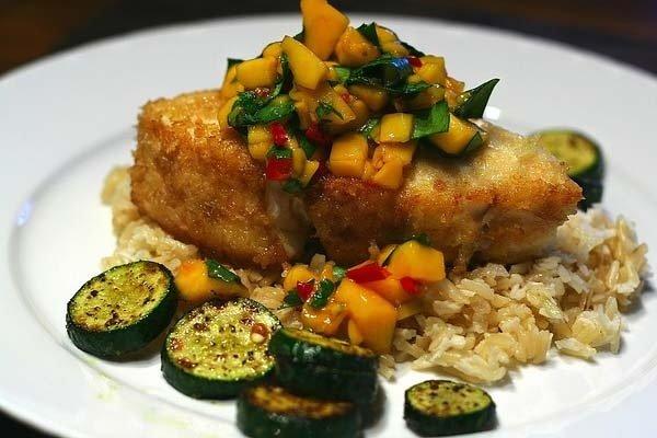 Receta de filete de pescado empanizado