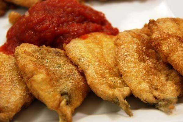 Receta de filete de pescado frito