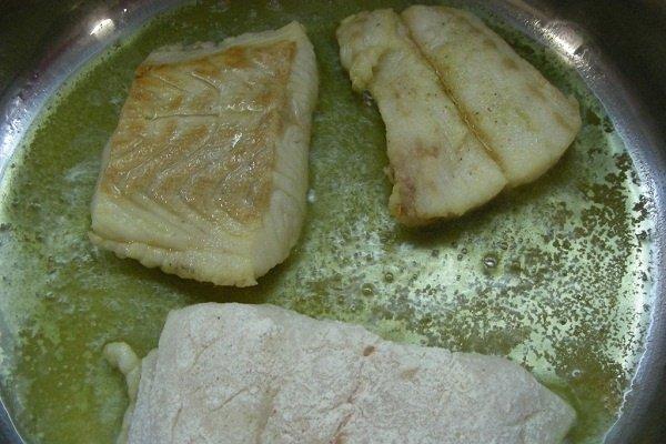 Receta de filetes de merluza