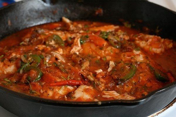 Receta de filetes de pescado a la veracruzana