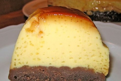 Receta de flan de chocolate en thermomix
