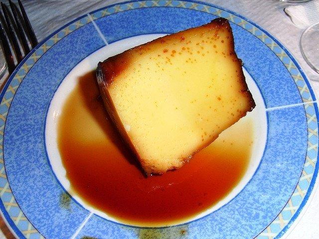 Imagen De Baño Maria:Foto de la receta de flan de huevo al baño maría