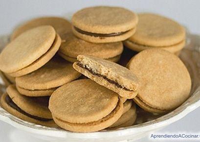 Receta de galletas con dulce de leche