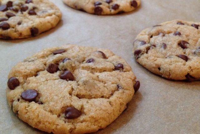 Receta de galletas con chips de chocolate