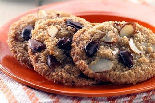 Receta de galletas de almendras