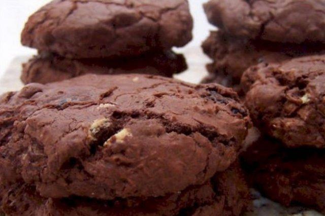 Receta de galletas de chocolate y leche condensada