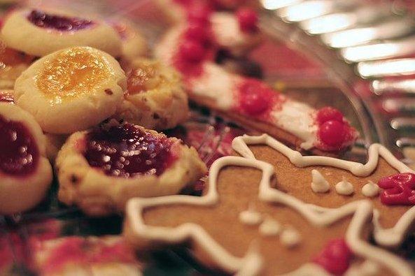 Receta de galletas de jengibre de navidad