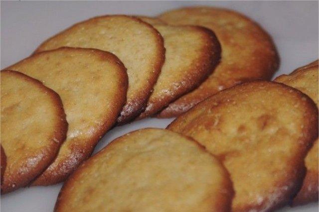 Receta de galletas de naranja (sin azúcar)