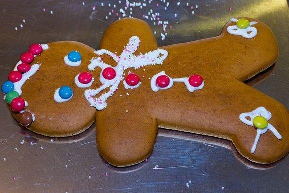 Receta de galletas de navidad de jengibre