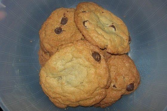 Receta de galletas dietéticas