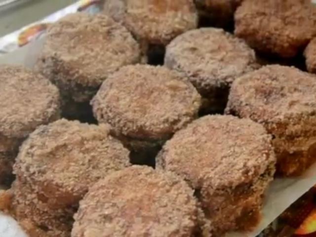 Receta de galletas fritas
