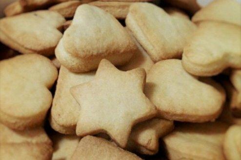 Receta de galletitas de mantequilla