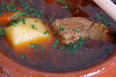 Receta de goulash