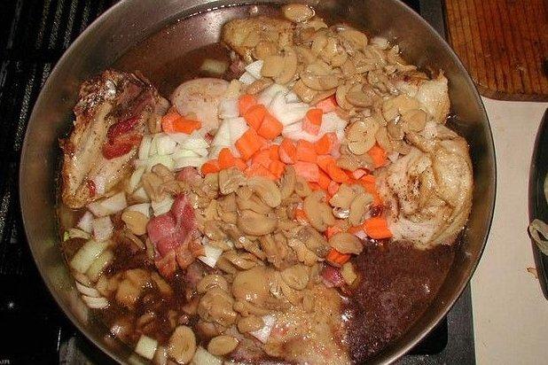 Receta de guiso de pollo