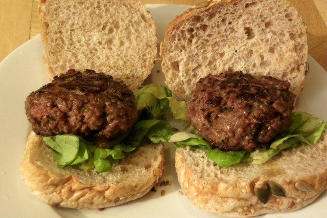 Receta de hamburguesas de carne molida
