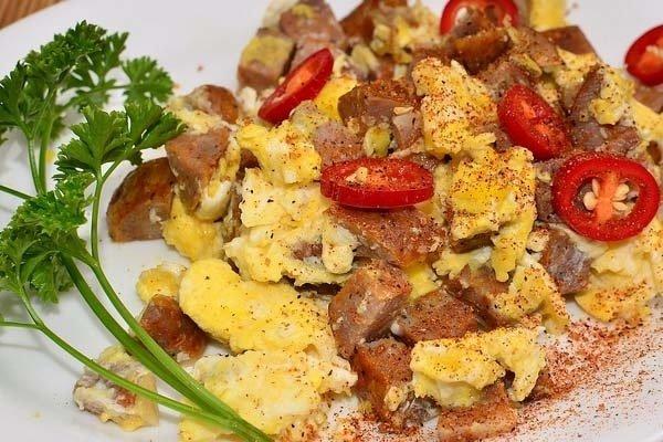 H gado de pollo en revuelto receta for Cocinar higado