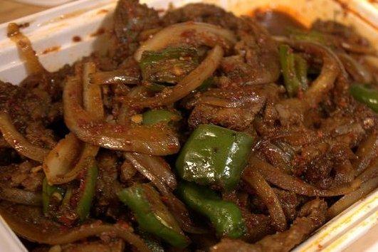 H gado de ternera picante receta for Cocinar higado de ternera