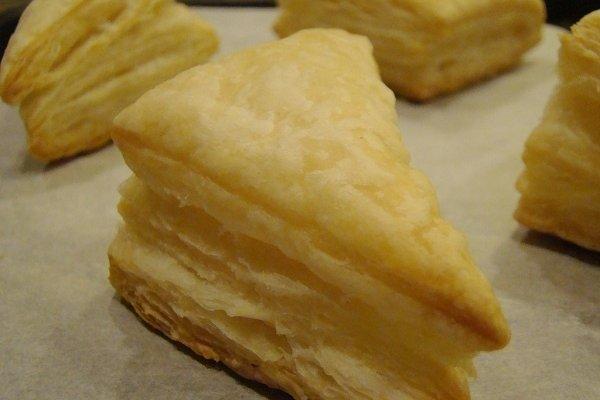 Receta de hojaldre para pastelitos