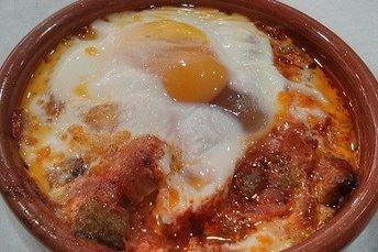 Receta De Huevos Al Plato Con Sobrasada
