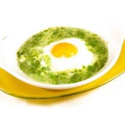 Receta de huevos en salsa verde