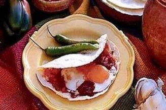 Receta de huevos rancheros con frijoles