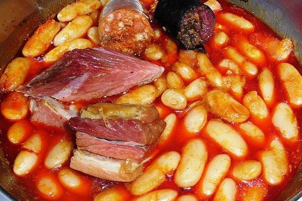 Jud as blancas con chorizo receta - Judias con chorizo y patatas ...