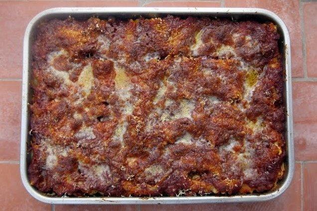 Receta de lasaña a la napolitana