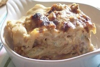 Receta de lasaña de cinco quesos