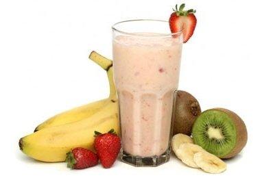 Receta de licuado de fruta