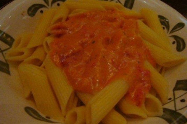 Receta de macarrones con salsa